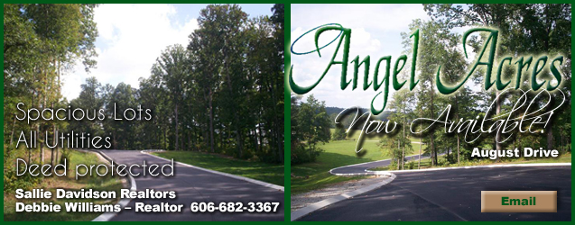 Angel Acres Subdivision, Lots for Sale, London, KY