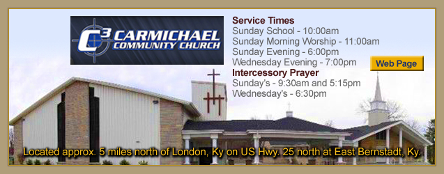 Carmichael Community Church, London, KY, Kentucky