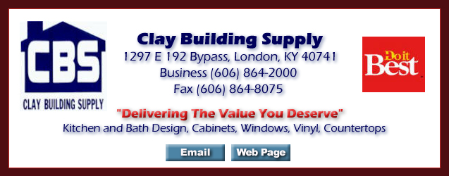 Clay Building Supply of London Kentucky