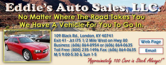 Eddies Auto Sales, used cars