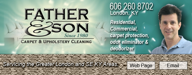 father and son carpet and upholstery cleaning, london, ky