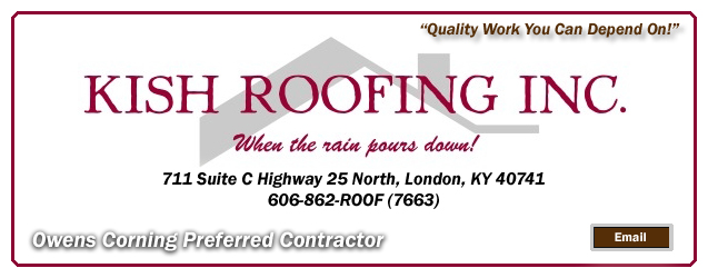 Kish Roofing, London, KY