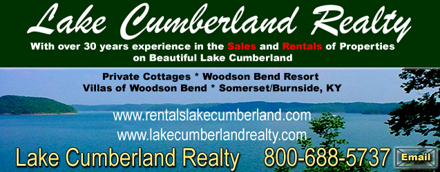 We specialize in the sale or rental of properties at Woodson Bend Resort on beautiful Lake Cumberland near Somerset, Kentucky.