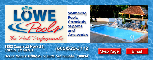 Lowe Pools, swimming pools, chemicals, supplies and accessories