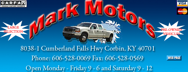 mark motors corbin ky