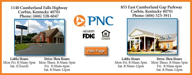 PNC Bank, Corbin, KY