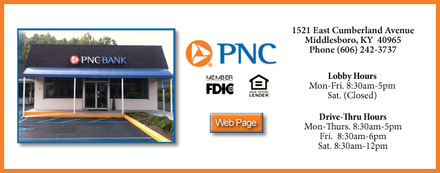PNC Bank, Middlesboro, KY