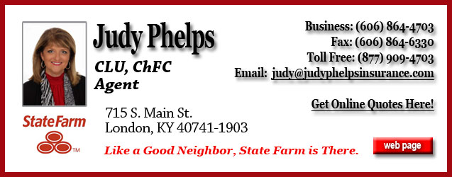 Judy Phelps State Farm Insurance London KY