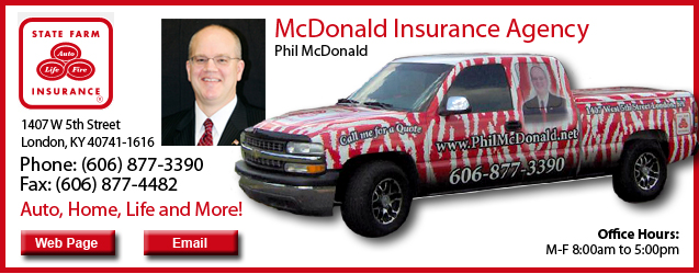 State Farm Insurance, Phil McDonald, auto insurance, home insurance, life insurance
